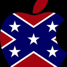 Confederate Apple Logo