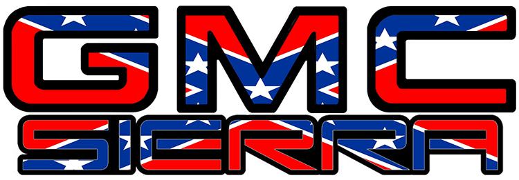 Confederate GMC Sierra