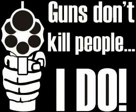 Guns & Ammo 001 Guns don't kill people… I do