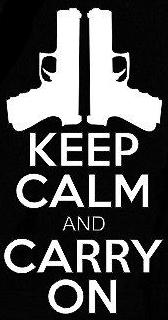 Guns & Ammo 007 Keep calm and carry on