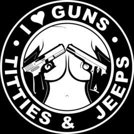 Guns & Ammo 009 I love guns Titties Jeeps