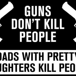 Guns & Ammo 030 Guns don't kill people