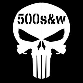 Guns & Ammo 036 Ammo can skull 500 S&W