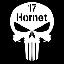 Guns & Ammo 037 Ammo can skull 17 Hornet
