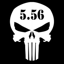 Guns & Ammo 039 Ammo can skull 5.56