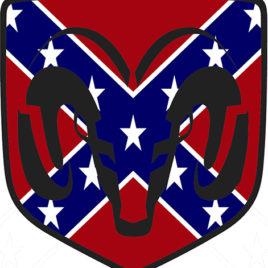 Confederate Dodge Ram Logo 1