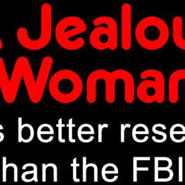 Funny 001 A jealous woman