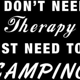 Funny 020 I don't need therapy