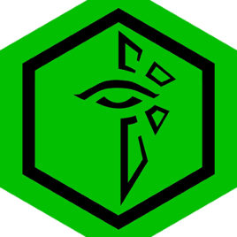 Ingress Enlightened Eye Hexagon 03