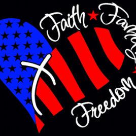 Patriotic 06 Faith Family Freedom