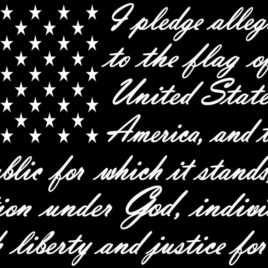 Patriotic 11 I Pledge Allegiance
